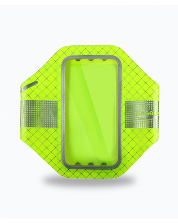 Ultra Thin Sports Arm Band  4.7 inch Fluorescent Green