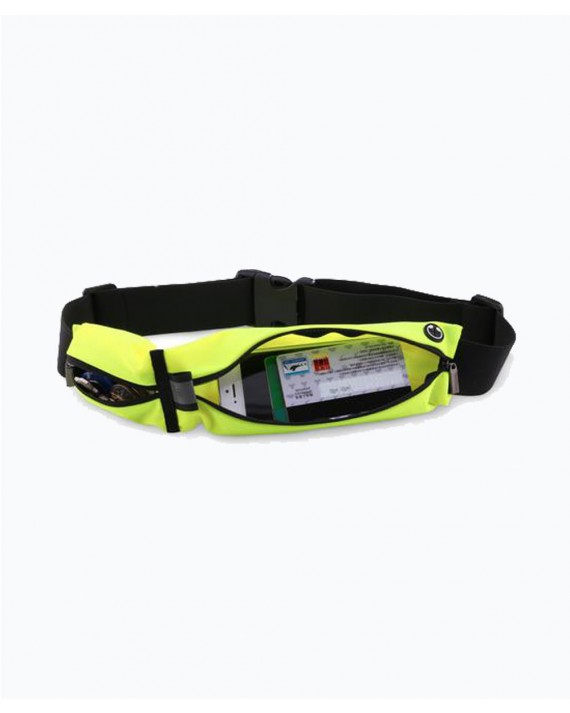 Waist Sports Pouch 5.5 inch Fluorescent Green