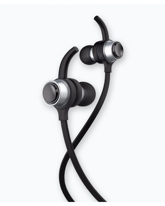 B-16 BT Earphone Silver/Black 10M
