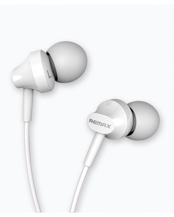 RM-501 Earphone 1.2M, 3.5mm White