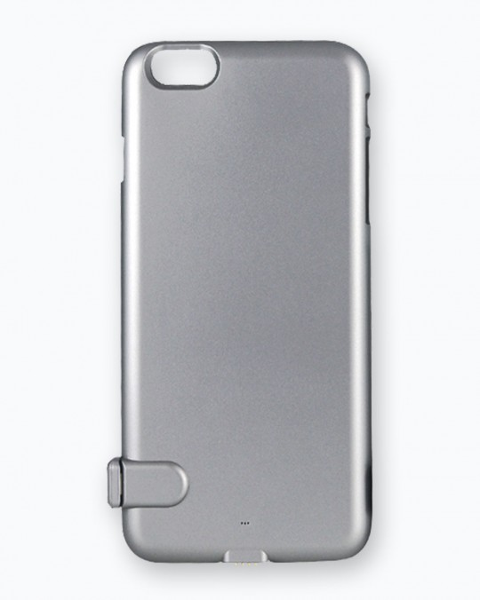 Ultra Thin Power Case For iPhone 7 3500 mAh Silver