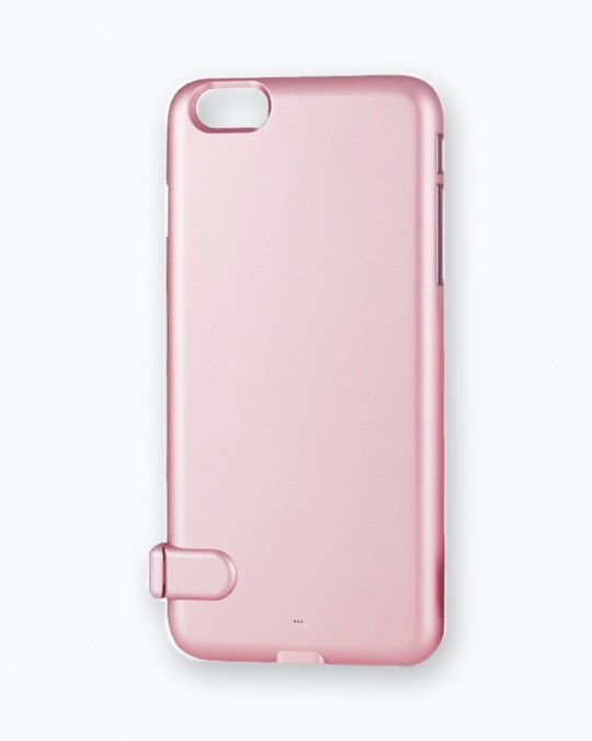 Ultra Thin Power Case For iPhone 7 3500 mAh Pink