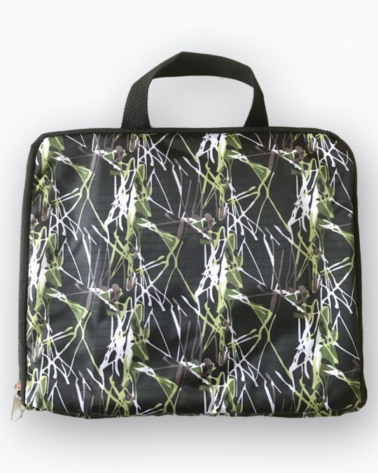 Foldable Bag Pack Waterproof Green Print