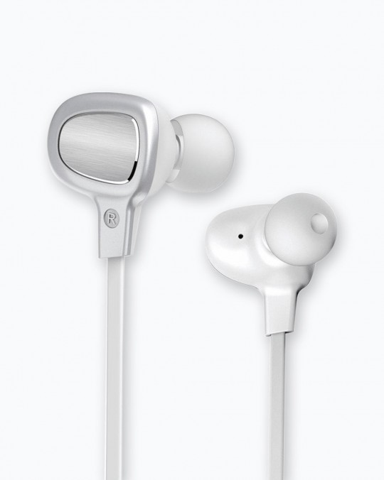 B-15 BT Earphone Silver/White 10M