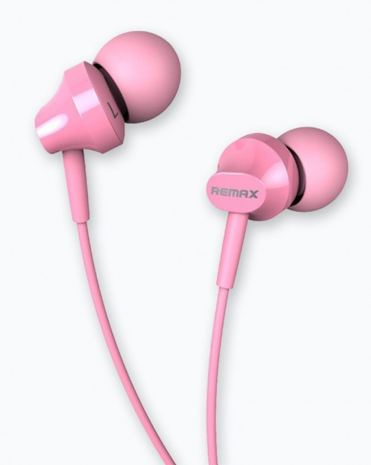 RM-501 Earphone 1.2M, 3.5mm Pink