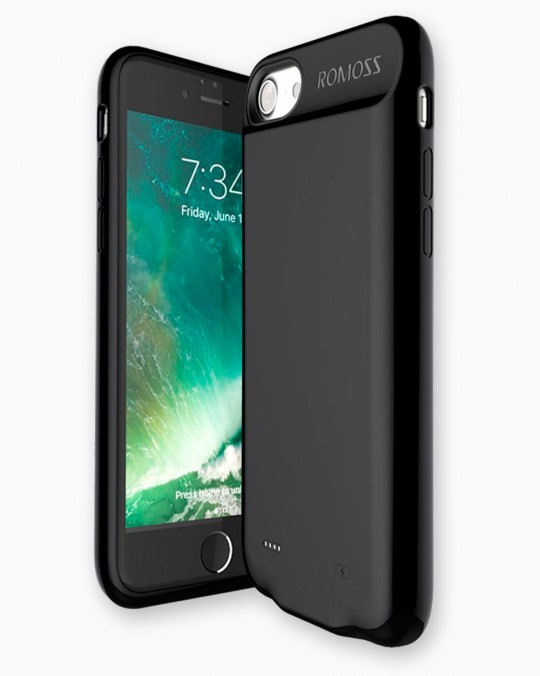 Power Case For iPhone 7 2800 mAh Black