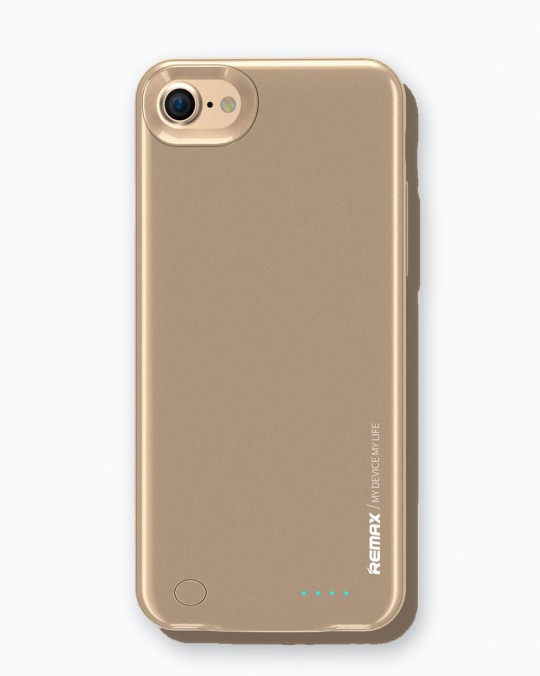 Energy Jacket for iPhone 7 2400 mAh Gold
