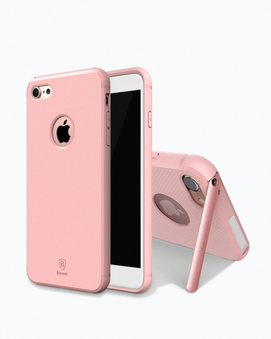 HIDDEN BRACKET CASE WITH STAND iPhone 7+ Pink