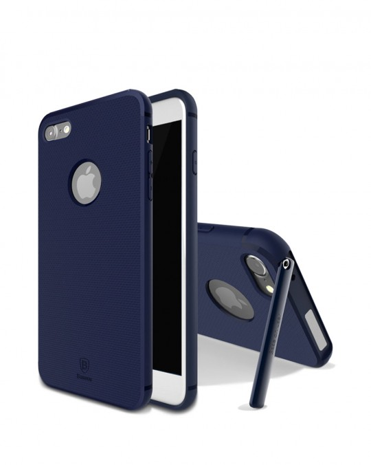 HIDDEN BRACKET CASE WITH STAND iPhone 7+ Blue