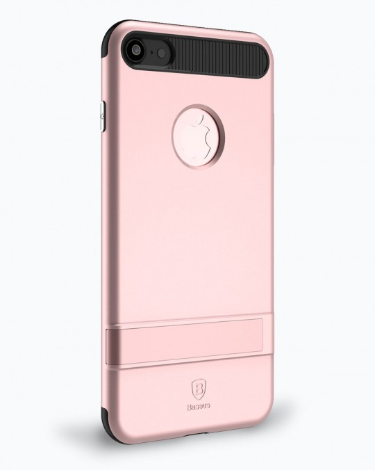 i BRACKET CASE WITH STAND iPhone 7+ Pink