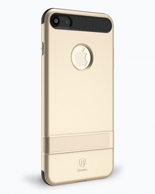 i BRACKET CASE WITH STAND iPhone 7+ Gold